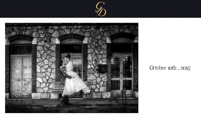 ασπρόμαυρο ψηφιακό άλμπουμ γάμου στο ναύπλιο