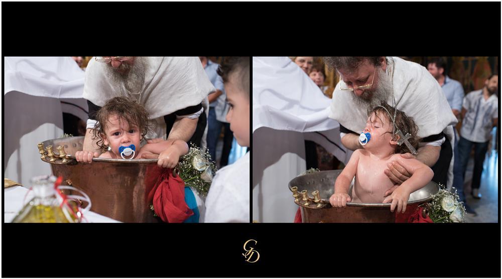 Φωτογράφηση βάπτισης στο Καπανδρίτι