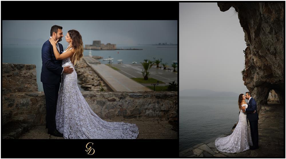 Φωτογράφιση γάμου στο Ναύπλιο | Next day φωτογράφιση