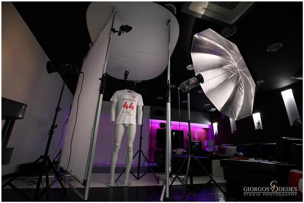 Φωτογράφιση προιόντων για το eshop του ΟΛΥΜΠΙΑΚΟΥ