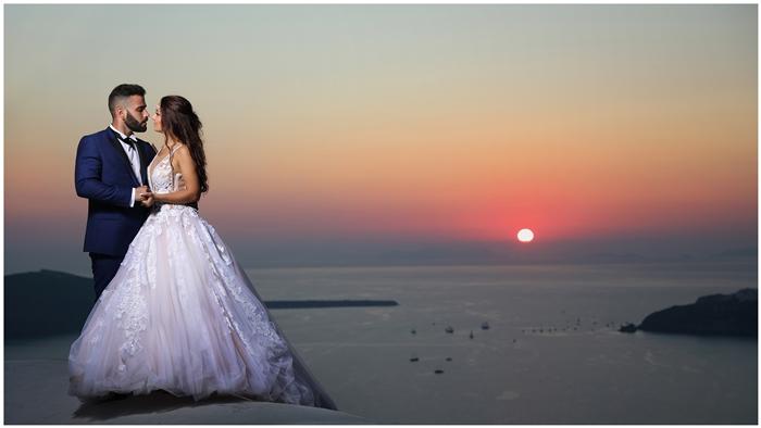 κινηματογράφηση-γάμου-σαντορίνη
