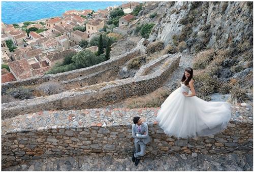 next day φωτογράφηση γάμου στη μονεμβασιά