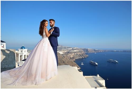 next day φωτογράφηση γάμου στη σαντορίνη