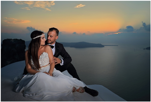 next day φωτογράφιση γάμου στη σαντορίνη