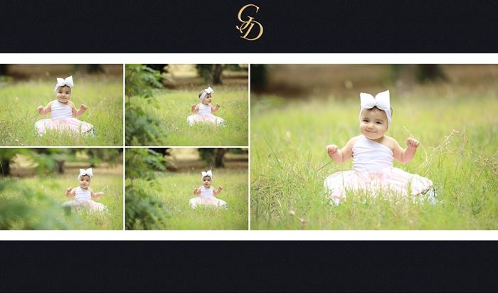 Ψηφιακό άλμπουμ βάπτισης για κορίτσι